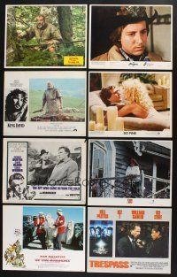 1h010 LOT OF 88 LOBBY CARDS '65 - '01 great scenes from 18 different movies!