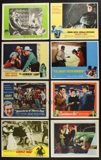 1h011 LOT OF 71 LOBBY CARDS '52 - '80 a variety of great scenes from 20 different movies!