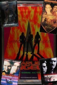 1h048 LOT OF 5 VINYL BANNERS '90s-00s Charlie's Angels, Astronaut's Wife, Anna and the King+more!