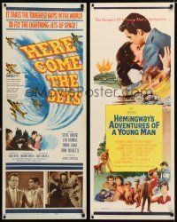 1h066 LOT OF 20 UNFOLDED INSERTS '50s-80s great images from a variety of different movies!