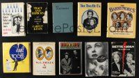 1h021 LOT OF 10 HARDCOVER MULTIPLE ACTOR BIOGRAPHICAL BOOKS '50s-00s Bud & Lou, Astaire & Rogers!