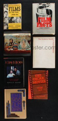 1h030 LOT OF 7 HARDCOVER BOOKS '50s-80s Oscar Movies, A Star is Born, Film Facts & more!