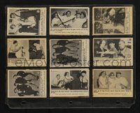 1h007 THREE STOOGES 64 Fleer trading cards '60s the entire set except for 2 cards!