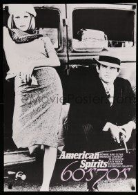 1j017 AMERICAN SPIRITS 60's 70's Japanese '90s Warren Beatty & Faye Dunaway as Bonnie and Clyde!