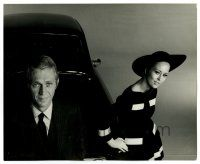 1m911 THOMAS CROWN AFFAIR deluxe 8.25x10 still '68 Steve McQueen & Faye Dunaway by Richard Avedon!