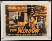 1s073 WINDOW linen 1/2sh R54 Bobby Driscoll saw it happen, but nobody will believe him!