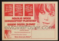 2g046 INSIDE DAISY CLOVER herald '66 great image of bad girl Natalie Wood, your new leader!