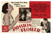2g069 PASSION FLOWER herald '30 beautiful Kay Francis could not help being a love thief!