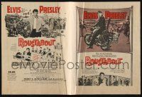 2g077 ROUSTABOUT herald '64 roving, restless, reckless Elvis Presley, cool different images!