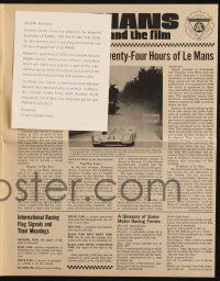 2g056 LE MANS herald '71 race car driver Steve McQueen, great different images & information!