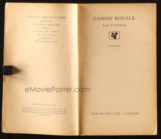 eMoviePoster com: 2g155 CASINO ROYALE 10th printing English