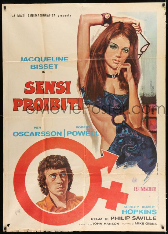 eMoviePoster com: 2j282 QUADRANGLE Italian 1p '71 Aller art of sexy