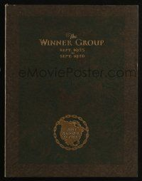 3t238 FIRST NATIONAL PICTURES 1925-26 campaign book '25 The Lost World & art from other releases!