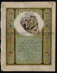 3t245 UNIVERSAL 1926-27 campaign book '26 incredible full-color art for Les Miserables & more!