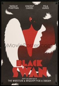 3t453 BLACK SWAN set of 4 teaser English 1sheets '10 best different retro artwork by La Boca!