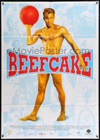 4c009 BEEFCAKE Italian 1p '00 biography of Bob Mizer, founder of the Athletic Model Guild!