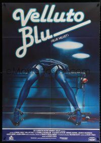 4c017 BLUE VELVET Italian 1p '86 directed by David Lynch, gruesome artwork by Enzo Sciotti!
