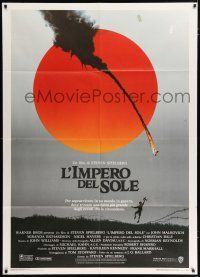 4c040 EMPIRE OF THE SUN Italian 1p '88 directed by Stephen Spielberg, first Christian Bale!