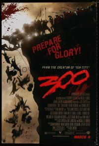 4d017 300 advance DS 1sh '06 Zack Snyder directed, Gerard Butler, prepare for glory!