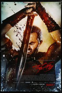 4d018 300: RISE OF AN EMPIRE March 7 style advance DS 1sh '14 Sullivan Stapleton with stabbing sword