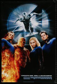 4d020 4: RISE OF THE SILVER SURFER style C DS 1sh '07 Jessica Alba, Chiklis, Chris Evans!