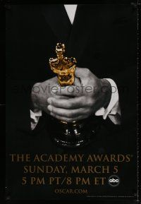 4d010 78th ANNUAL ACADEMY AWARDS DS 1sh '05 cool Studio 318 design of man in suit holding Oscar!