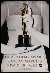 4d011 78th ANNUAL ACADEMY AWARDS DS 1sh '05 Studio 318 design of woman w/gloves holding Oscar!