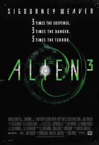 4d041 ALIEN 3 1sh '92 this time it's hiding in the most terrifying place of all!