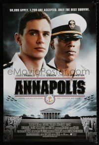 4d059 ANNAPOLIS DS 1sh '06 James Franco, Tyrese Gibson, Only the best survive!