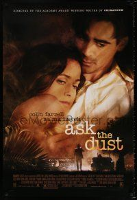 4d065 ASK THE DUST 1sh '06 directed by Robert Towne, Colin Farrell & sexy Salma Hayek!
