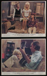 4e075 BUTTERFLIES ARE FREE 8 color 8x10 stills '72 Goldie Hawn & blind Edward Albert, cool images!