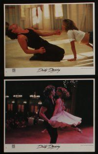 4e082 DIRTY DANCING 8 8x10 mini LCs '87 classic images of Patrick Swayze & Jennifer Grey!