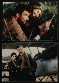 4e011 HIGH ROAD TO CHINA 16 color Dutch 7.75x11 stills '83 Tom Selleck & Bess Armstrong, different!