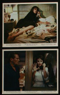 4e016 IN THE COOL OF THE DAY 12 color 8x10 stills '63 Jane Fonda, Peter Finch, Angela Lansbury!