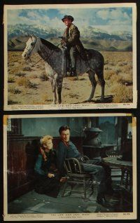4e064 LAW & JAKE WADE 9 color 8x10 stills '58 Robert Taylor, Richard Widmark & Patricia Owens!