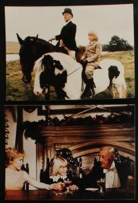 4e004 LITTLE LORD FAUNTLEROY 26 color Dutch 8x10.75 stills '80 Ricky Schroder, Sir Alec Guinness!
