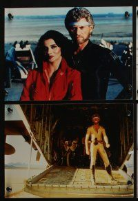 4e008 MEGAFORCE 21 color Dutch 8x11 stills '82 Barry Bostwick as Ace Hunter, completely different!