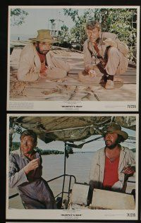 4e017 MURPHY'S WAR 12 color 8x10 stills '71 Peter O'Toole, directed by Peter Yates!