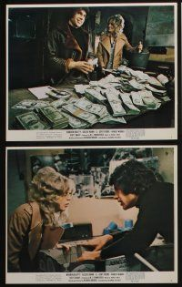 4e068 $ 8 color 8x10 stills '71 bank robbers Warren Beatty & sexy Goldie Hawn!