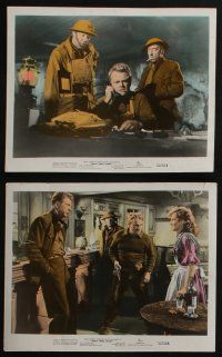 4e058 WHAT PRICE GLORY 10 color 8x10 stills '52 James Cagney, Corinne Calvet, Dailey, John Ford!