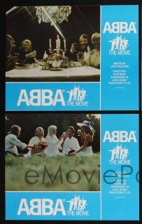 4k019 ABBA: THE MOVIE 10 English LCs '78 Swedish pop rock, images of all 4 band members!