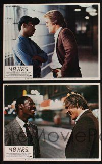 4k063 48 HRS. 8 LCs '82 Nick Nolte & Eddie Murphy couldn't have liked each other less!