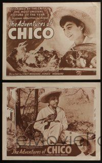 4k070 ADVENTURES OF CHICO 8 LCs R40s about a young Mexican boy and his beloved bird!