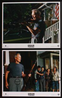 4k023 GRAN TORINO 10 LCs '09 great images of angry Clint Eastwood, Bee Vang!