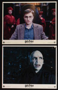 4k025 HARRY POTTER & THE ORDER OF THE PHOENIX 10 LCs '07 Daniel Radcliffe, Emma Watson, Grint