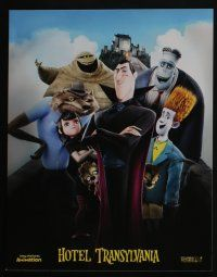 4k029 HOTEL TRANSYLVANIA 10 LCs '12 where monsters go to get away from it all!