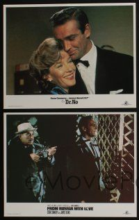 4k015 JAMES BOND 11 LCs '84 one great scene card each from the first eleven 007 movies!