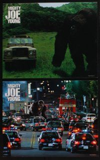 4k034 MIGHTY JOE YOUNG 10 LCs '98 Charlize Theron, Bill Paxton & special FX images with giant ape!