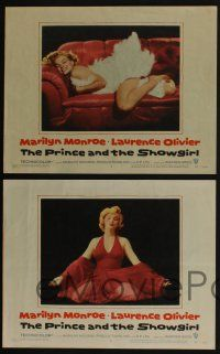 4k001 PRINCE & THE SHOWGIRL 8 LCs '57 wonderful images of sexiest Marilyn Monroe & Laurence Olivier