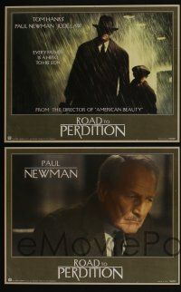 4k017 ROAD TO PERDITION 11 LCs '02 Tom Hanks, Paul Newman, Jude Law, Jennifer Jason Leigh